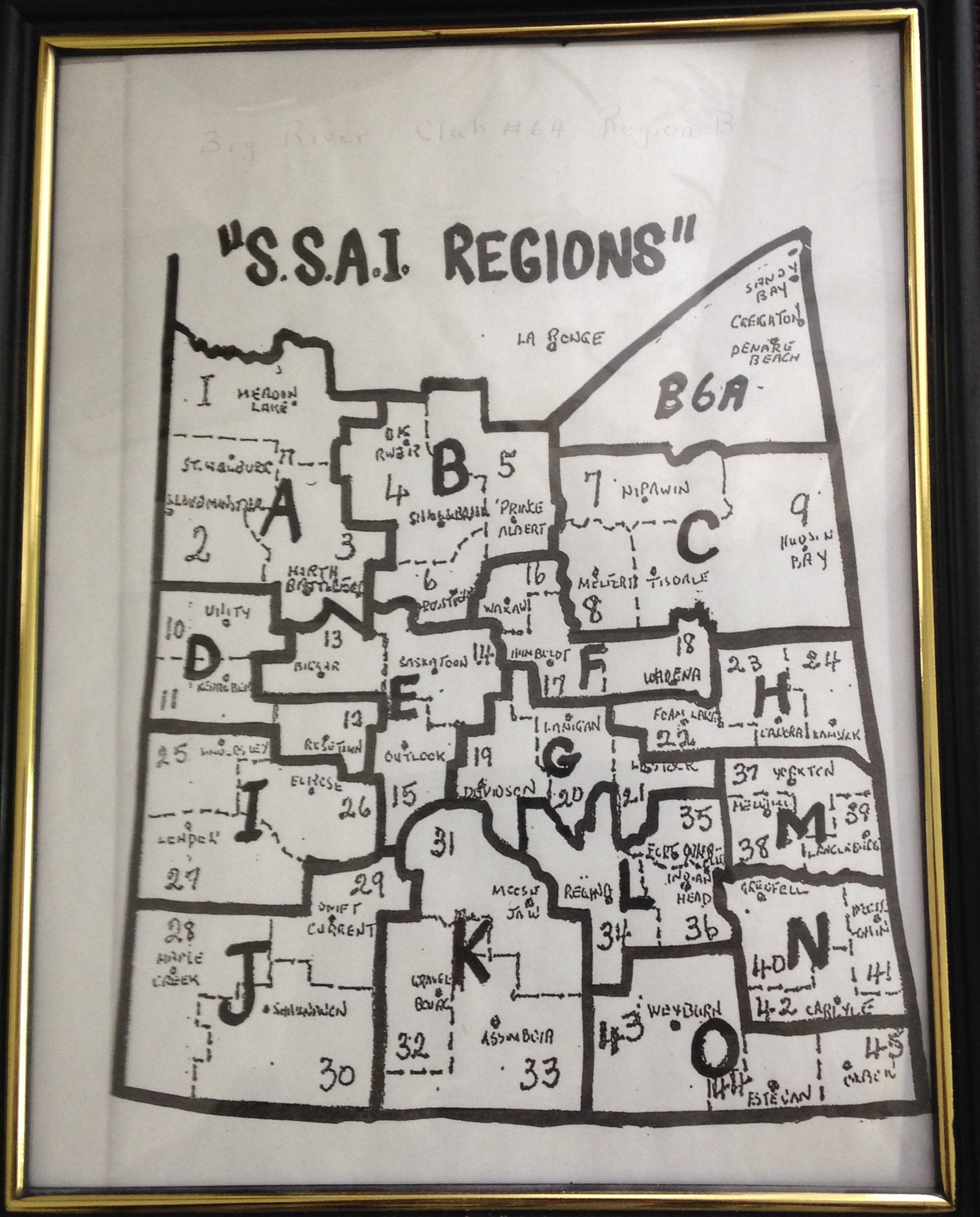 SSAI Map