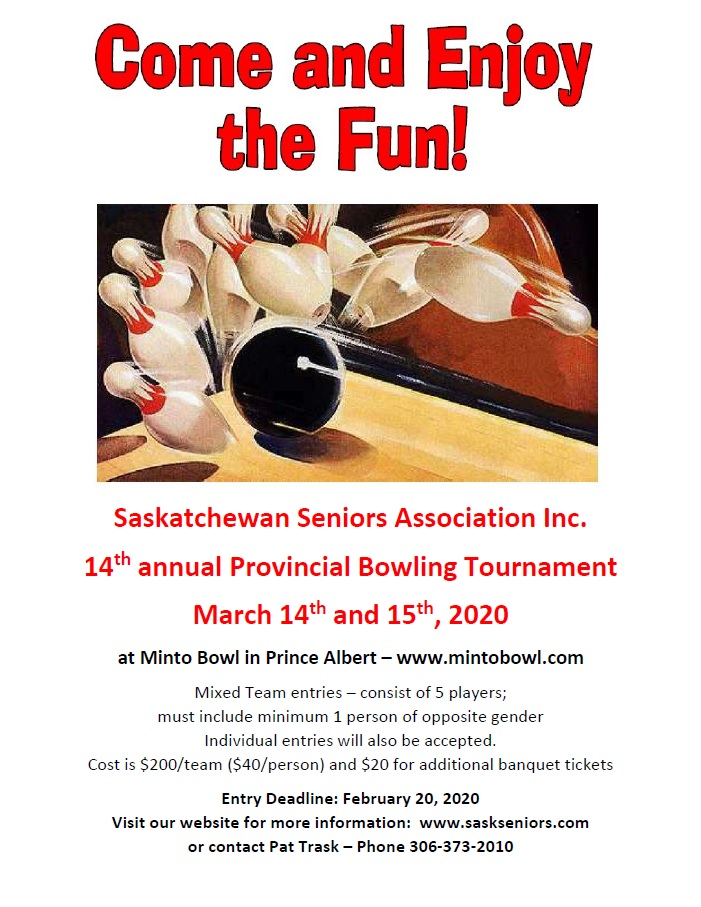 11th Annual SSAI Bowling Tournament March 10 and 11, 2018